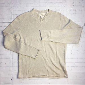 Banana republic linen cotton sweater